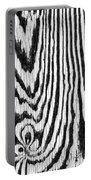Zebras In Wood Portable Battery Charger