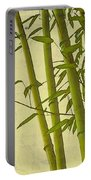 Zen Bamboo Abstract I Portable Battery Charger