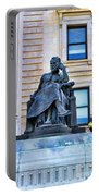 Zeus The King Portable Battery Charger by Paul Ward