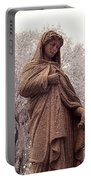 Ziba King Memorial Statue Front View Florida Usa Near Infrared Se Portable Battery Charger