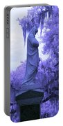 Ziba King Memorial Statue Side View Florida Usa Near Infrared Portable Battery Charger