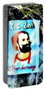 Zig Zag Double Wide Portable Battery Charger