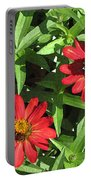 Zinnia Gardens-1 Portable Battery Charger