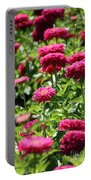 Zinnia Palooza Portable Battery Charger