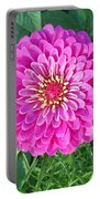 Zinnia - Pink Portable Battery Charger