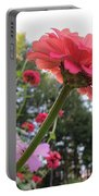 Zinnia Side View Portable Battery Charger