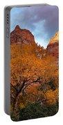 Zion Cliffs Autumn Portable Battery Charger