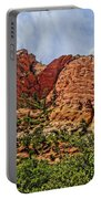 Zion National Park In Summer Portable Battery Charger