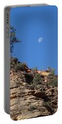 Zion National Park Moonrise Portable Battery Charger