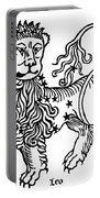 Zodiac Leo, 1482 Portable Battery Charger