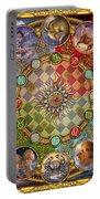 Zodiac Mandala Portable Battery Charger