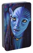 Zoe Saldana As Neytiri In Avatar Portable Battery Charger