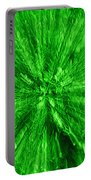 Zoom In Green Portable Battery Charger