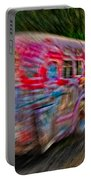 Zooming Graffiti Bus Portable Battery Charger