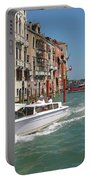 Zooming On The Canals Of Venice Portable Battery Charger