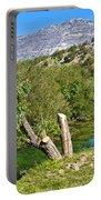 Zrmanja River And Velebit Mountain Portable Battery Charger