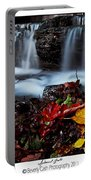 Autumnal Falls Portable Battery Charger