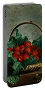 Basket Of Strawberries Portable Battery Charger