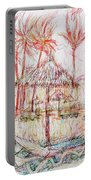 Beach Umbrella Portrait Portable Battery Charger