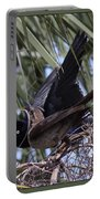 Boat-tailed Grackle - Quiscalus Major Portable Battery Charger