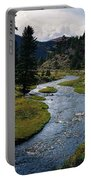 Costilla Creek In Fall Portable Battery Charger