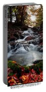 Falls In The Fall Portable Battery Charger
