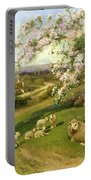 Spring - One Of A Set Of The Four Seasons  Portable Battery Charger