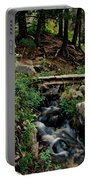 Stream In Tall Pines Portable Battery Charger