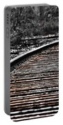 0003 Train Tracks Portable Battery Charger