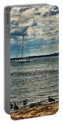 001 On A Summers Day  Erie Basin Marina Summer Series Portable Battery Charger