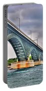 001 Stormy Skies Peace Bridge Series Portable Battery Charger