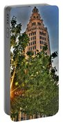 002 Electric Tower At Sunrise  Portable Battery Charger