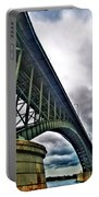 002 Stormy Skies Peace Bridge Series Portable Battery Charger