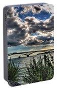 003 Peace Bridge Series II Beautiful Skies Portable Battery Charger