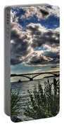 003 Peace Bridge Series II Beautiful Skies Portable Battery Charger