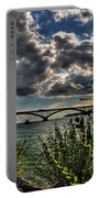 004 Peace Bridge Series II Beautiful Skies Portable Battery Charger
