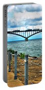 004 Stormy Skies Peace Bridge Series Portable Battery Charger