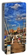 005 On A Summers Day  Erie Basin Marina Summer Series Portable Battery Charger