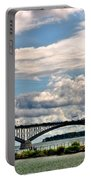 005 Stormy Skies Peace Bridge Series 55mph Portable Battery Charger