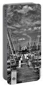 005bw On A Summers Day  Erie Basin Marina Summer Series Portable Battery Charger