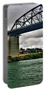 006 Stormy Skies Peace Bridge Series Portable Battery Charger