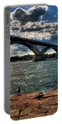 007 Peace Bridge Series II Beautiful Skies Portable Battery Charger