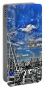 007sc On A Summers Day  Erie Basin Marina Summer Series Portable Battery Charger