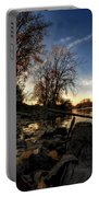 008 Autumn At Tifft Nature Preserve Series  Portable Battery Charger
