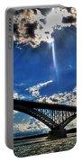 008 Peace Bridge Series II Beautiful Skies Portable Battery Charger