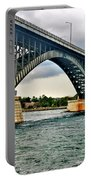 008 Stormy Skies Peace Bridge Series Portable Battery Charger