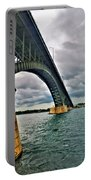 009 Stormy Skies Peace Bridge Series Portable Battery Charger