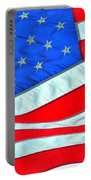 01 American Flag Portable Battery Charger