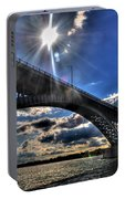 015 Peace Bridge Series II Beautiful Skies Portable Battery Charger