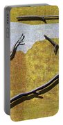 0291 Abstract Landscape Portable Battery Charger
